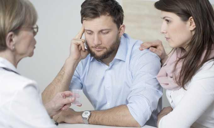 Иногда требуется консультация психотерапевта, т. к. повторное обострение может спровоцировать чрезмерное нервное напряжение